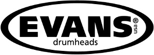 "Evans 24"" EMAD Batter Clear Bass Drumhead"